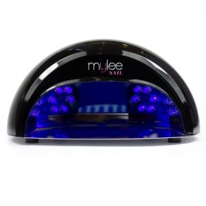 Black LED Nail Lamp By Mylee