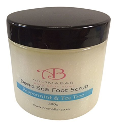 luxury foot scrub