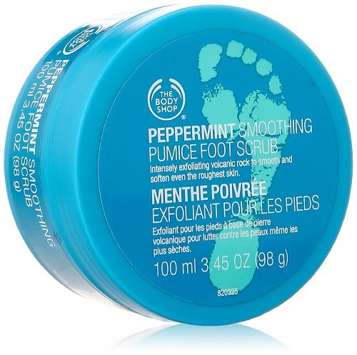 body shop foot scrub