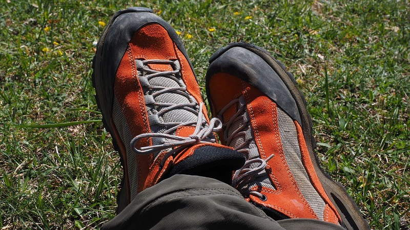 preparing your feet for a long distance walk