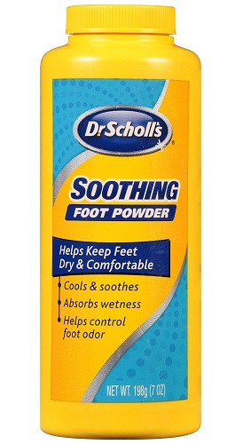 foot powder for sweaty feet