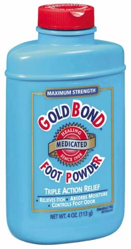 powder for smelly feet