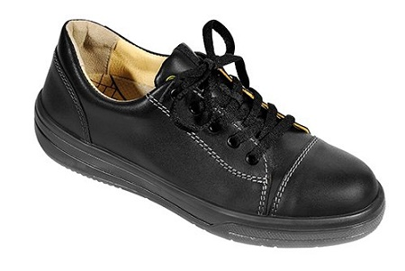 Elten Vintage Lady Black Low Safety Shoe
