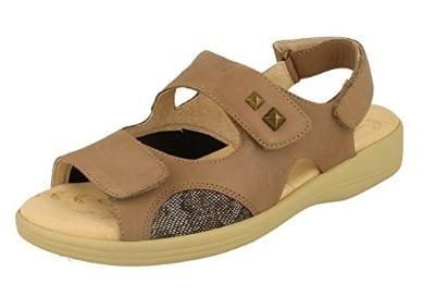 ladies wide fit sandals