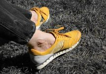 how to relieve ankle pain from running